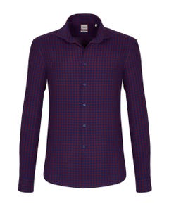 LONG-SLEEVED SHIRT IN JASPE OXFORD FLANNEL BUTTON DOWN_0