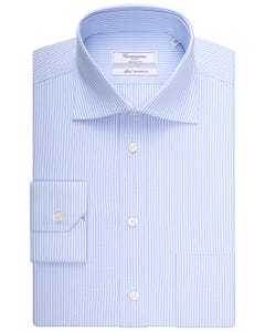 SLIM FIT LIGHT BLUE WITH SEMI FRENCH COLLAR SORRENTO NEW FRENCH COLLAR_0