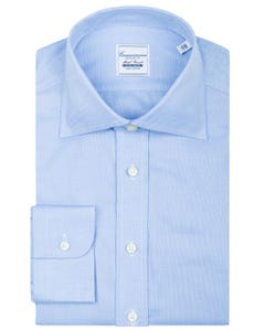 REGULAR FIT NON IRON SHIRT WITH SEMI FRENCH COLLAR ZURICH NEW FRENCH COLLAR_0
