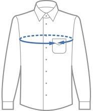 camicia torace